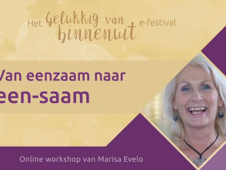 Webinar: Van eenzaam naar een-saam (e-festival)